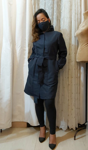 ATHENA PPE Trench Dress by LBD
