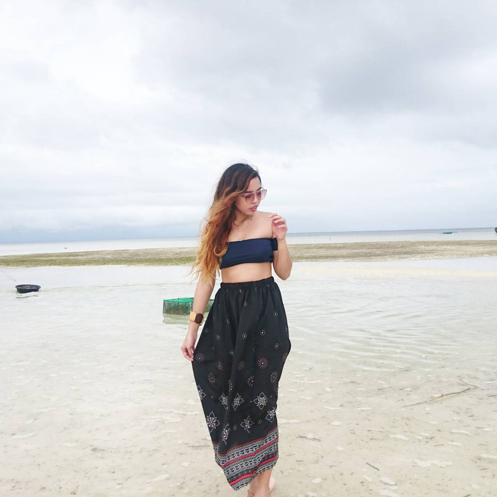 Dallah Printed Maxi Skirts