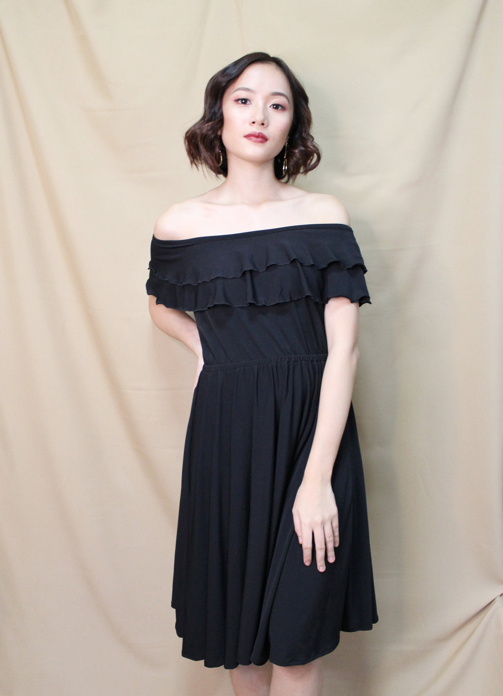 Anica Double Ruffles Dress