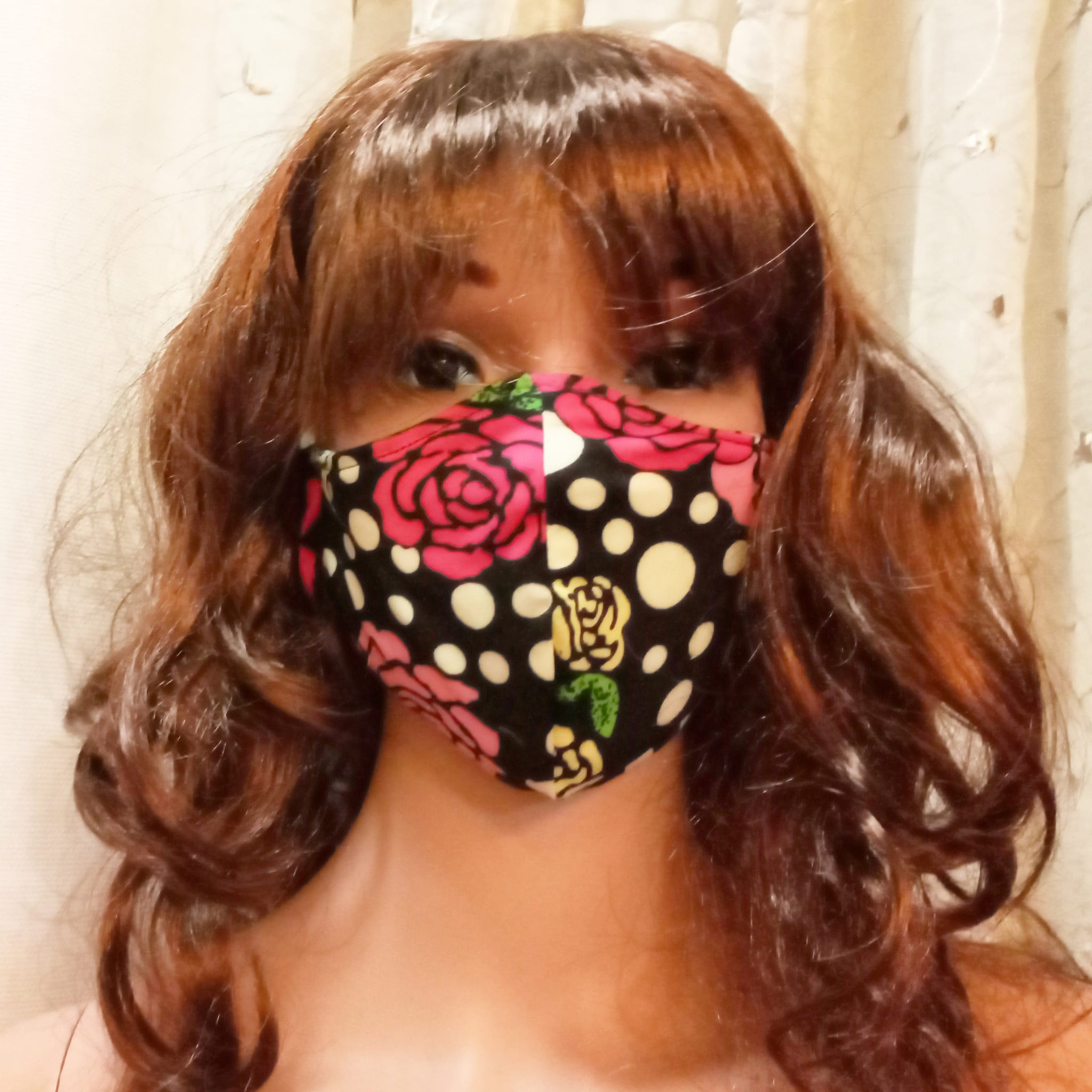 Fash Mask LYNNA SET Cotton Floral