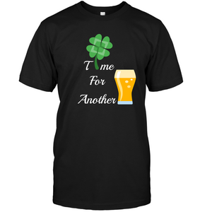 Custom Time for Another Beer T-shirt - FreedomDealz