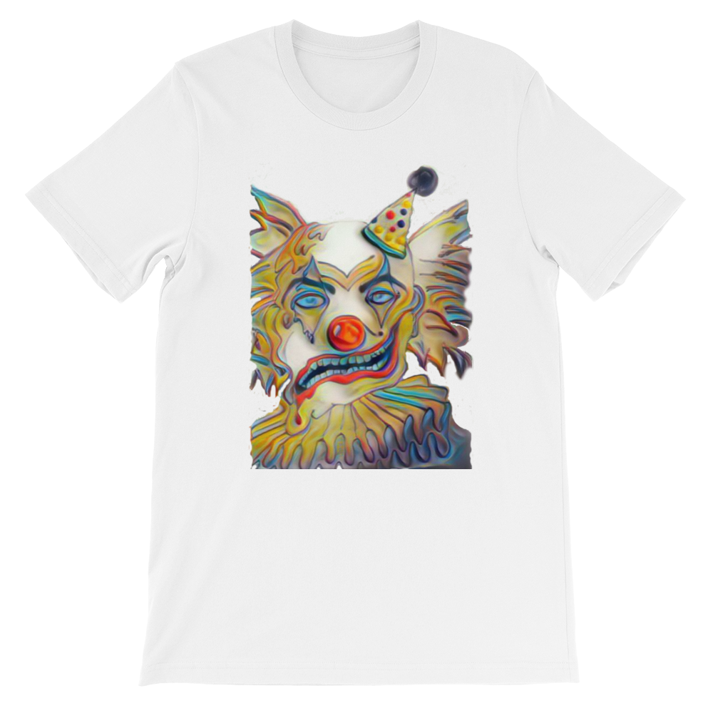 Short-Sleeve clown Unisex T-Shirt - FreedomDealz