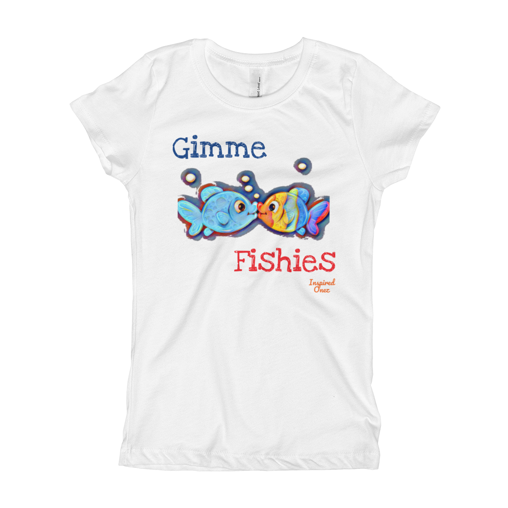 Girl's Gimme Fishies T-Shirt - FreedomDealz