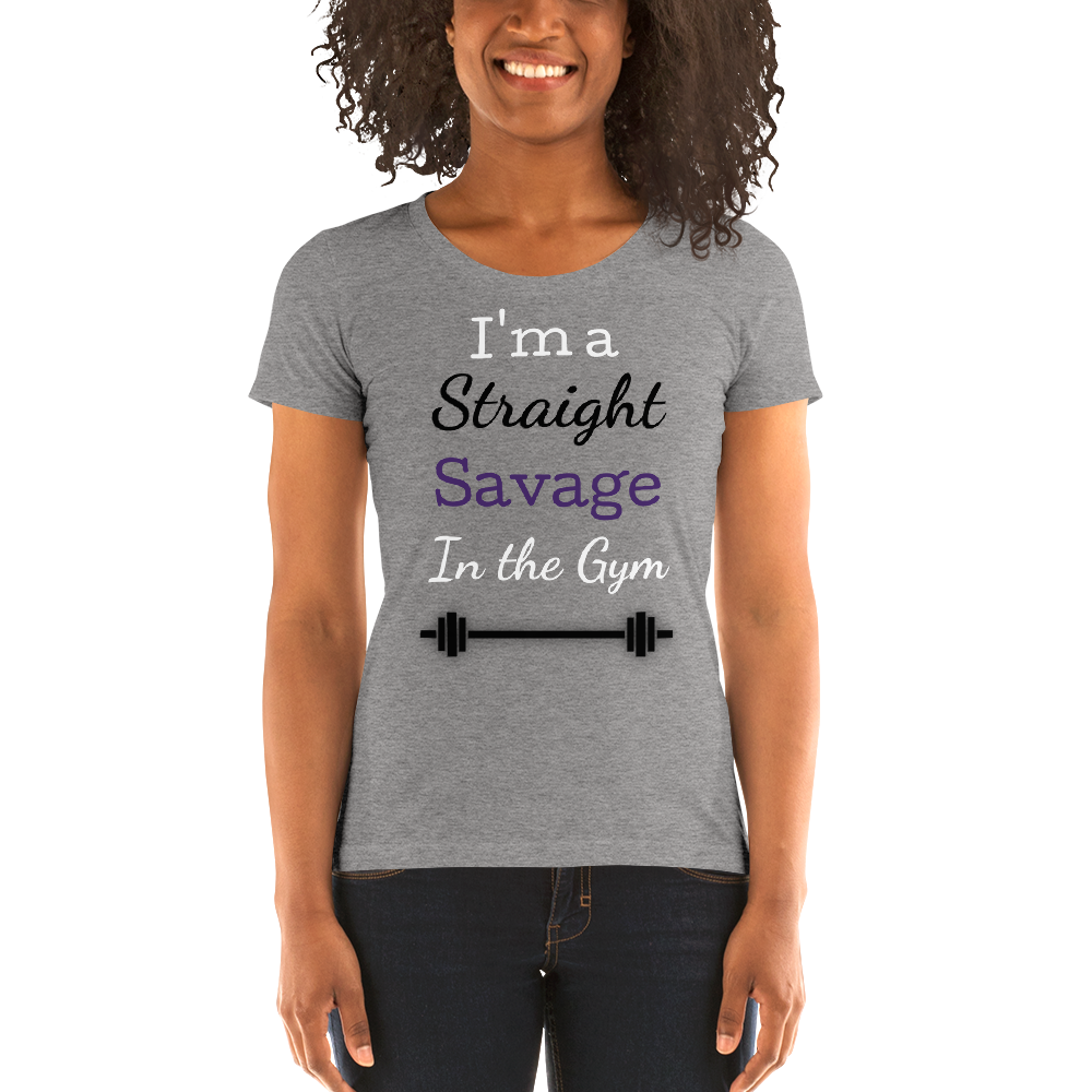 I'ma a Straight savage short sleeve t-shirt - FreedomDealz