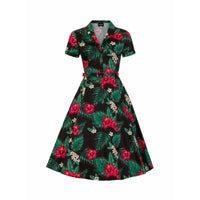 Caterina Tropical Paradise Swing Dress