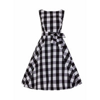 Frances Gingham Swing Dress