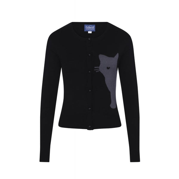 Jessie Midnight Cat Cardigan