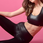 Sportbra Shiny black