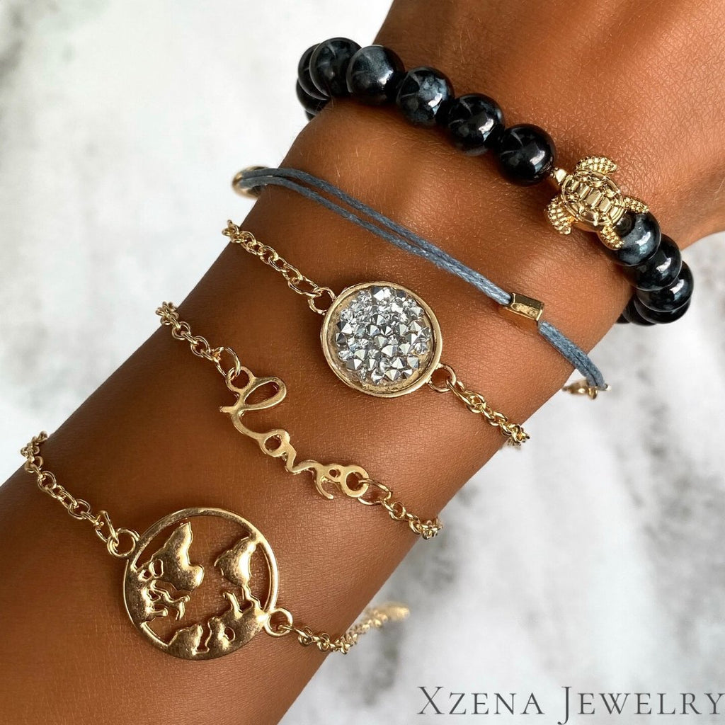 Armband Set Power of Love - Xzena