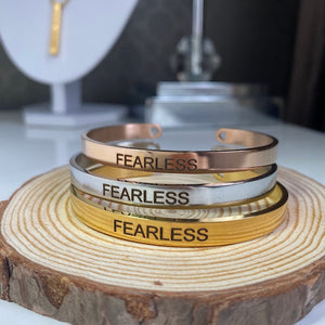 Fearless Armband Rose Gold - Xzena