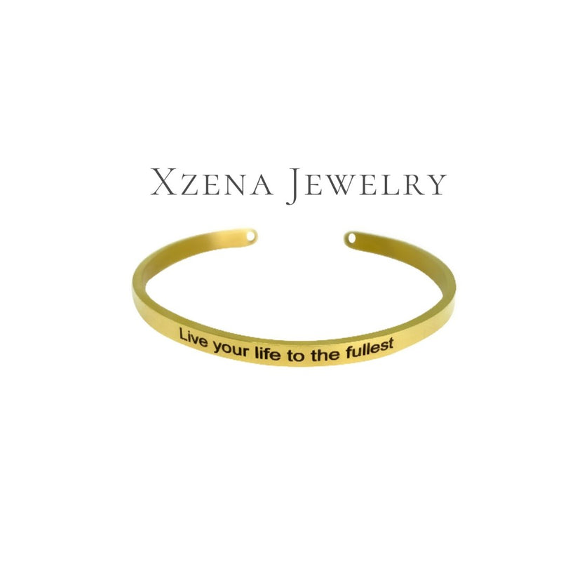 Live your life to the fullest Gold - Xzena