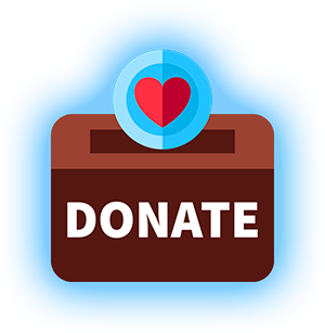 Donate funds to help our work