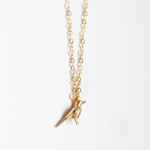 BABY BIRD NECKLACE