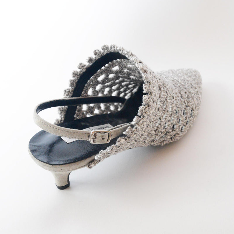 CROCHET KNIT MULES