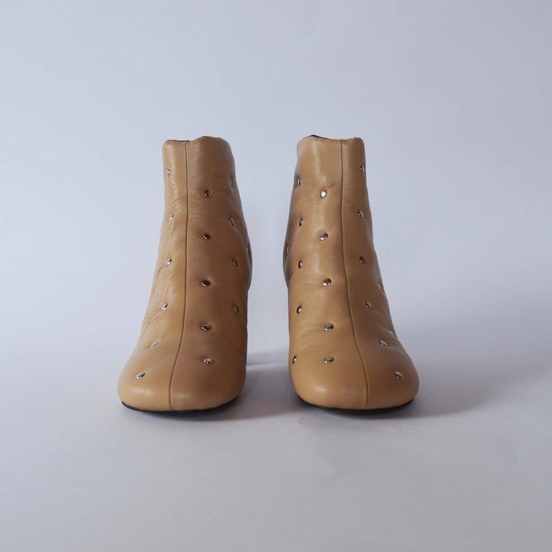 CAR SHEET BOOTS BEIGE
