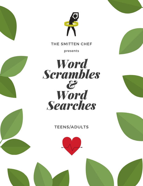 Word Scrambles & Word Searches for Teens/Adults