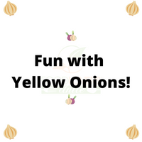 Fun with Yellow Onions Activity Pages!