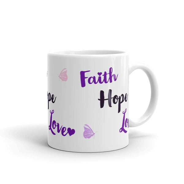 Faith, Hope & Love Mug