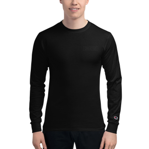 Creative Champion Long Sleeve Shirt Black on Black