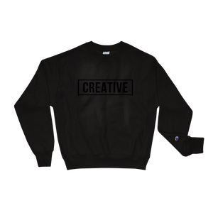 Champion Black on Black Creative