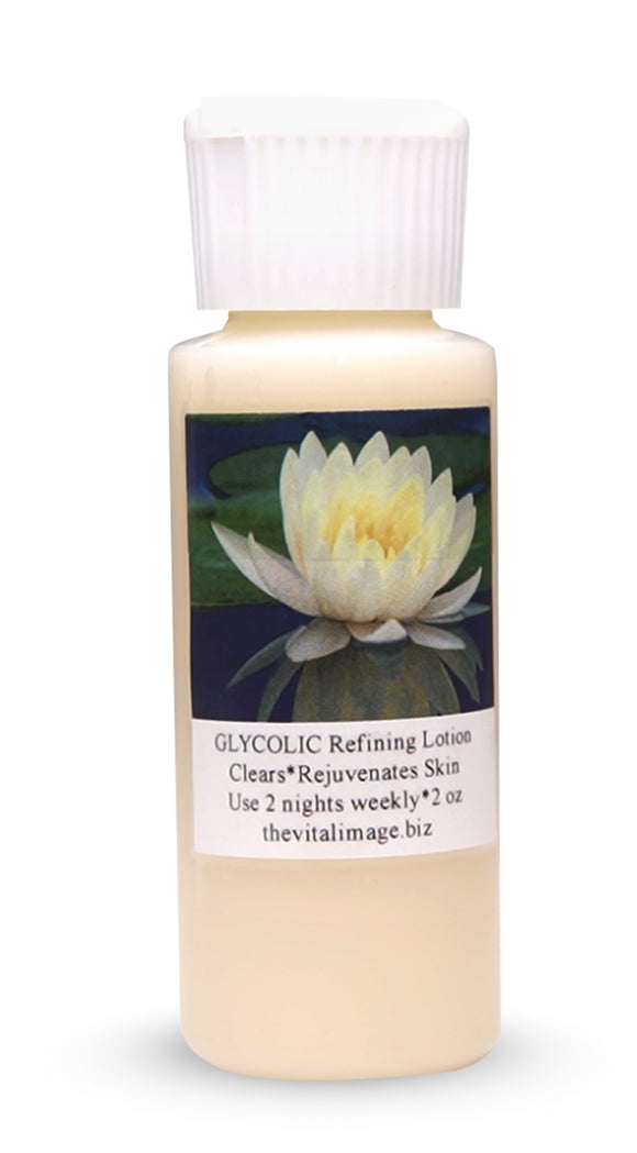 ~98nl.Glycolic: No label Glycolic Refining Lotion 2 oz.