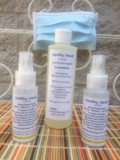Healthy Hands Spray Set