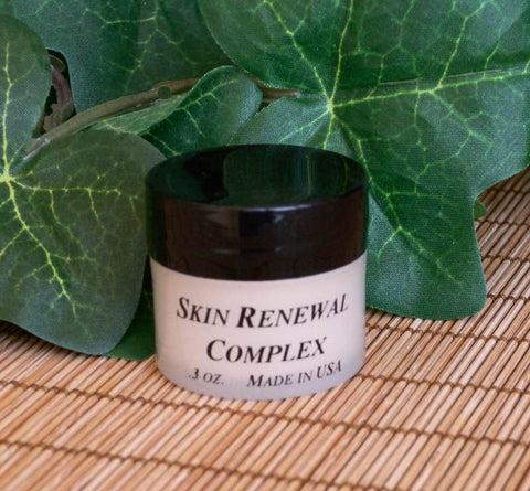 Renewal Complex, 1/3 oz. natural, organic cream, anti wrinkle, anti-aging, for dry skin, oily skin, sensitive skin, for men, women, all ages