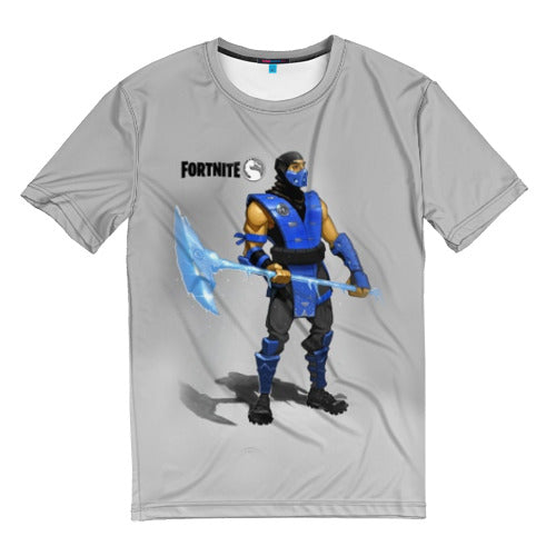 Men's t-shirts full print Mortal Kombat