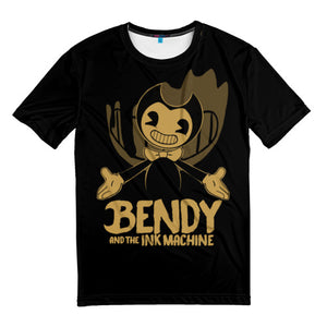 Men's t-shirts full print Bendy and the ink machine
