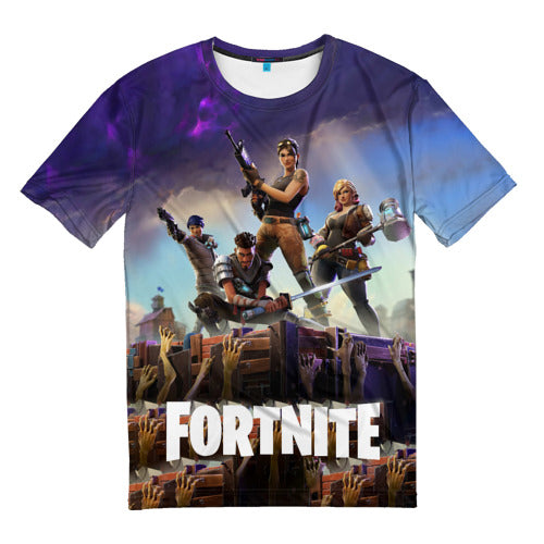 Men's t-shirts full print Fortnite