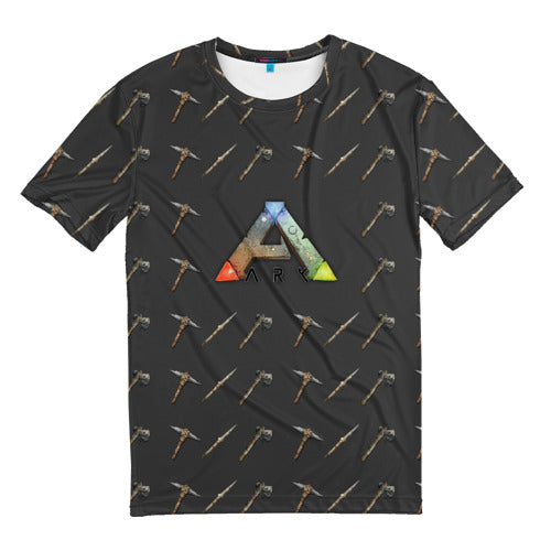 Men's t-shirts full print Ark Survival Evolved