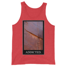 Load image into Gallery viewer, Crack Addict Unisex Tank Top - Rock Climbing Renaissance