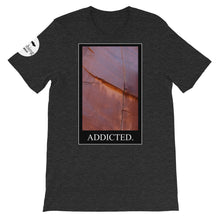 Load image into Gallery viewer, Crack Addict Unisex T-Shirt - Rock Climbing Renaissance