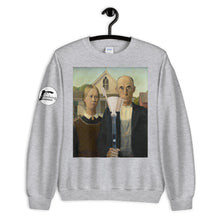 Load image into Gallery viewer, Farmer and His Brush Unisex Sweatshirt - Rock Climbing Renaissance