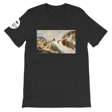 Load image into Gallery viewer, The Crimp of Adam Unisex T-Shirt - Rock Climbing Renaissance