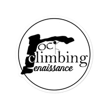 Load image into Gallery viewer, Rock Climbing Renaissance Sticker - Rock Climbing Renaissance