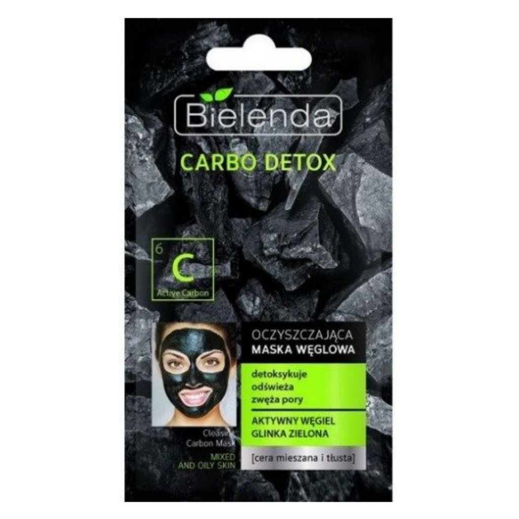 Carbo Detox Cleansing Mask - 8gr