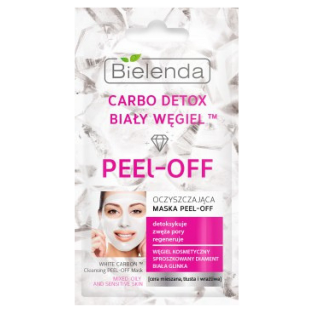 Carbo Detox White Peel Off Mask - 2x5gr