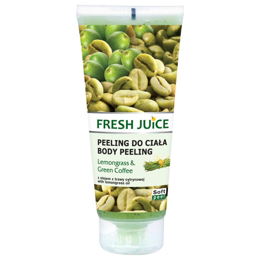 Fresh Juice Body Peeling - Lemnograss & Green Coffee - 200ml