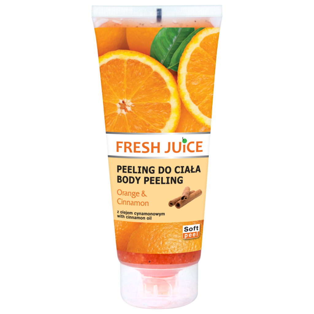 Fresh Juice Body Peeling - Orange & Cinnamon - 200ml