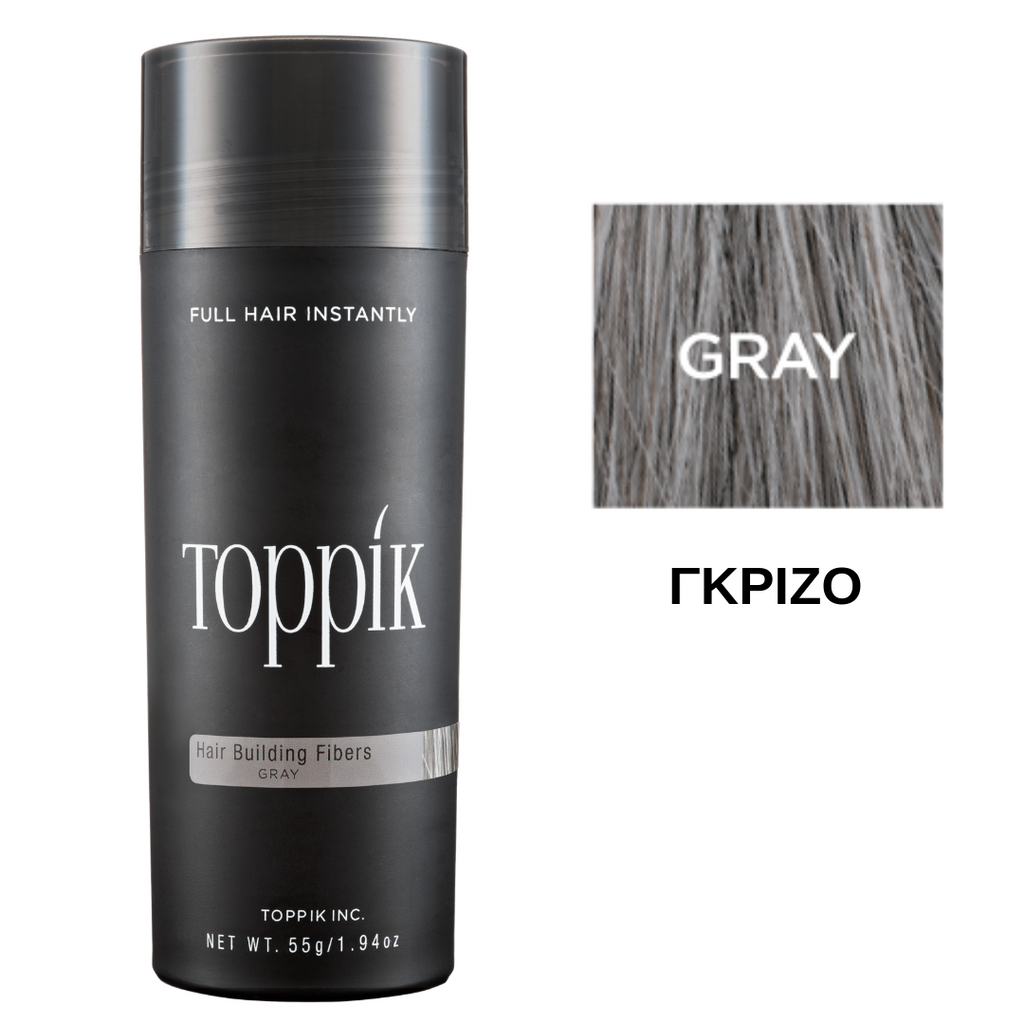 Toppik Hair Building Fibers Grey 55gr
