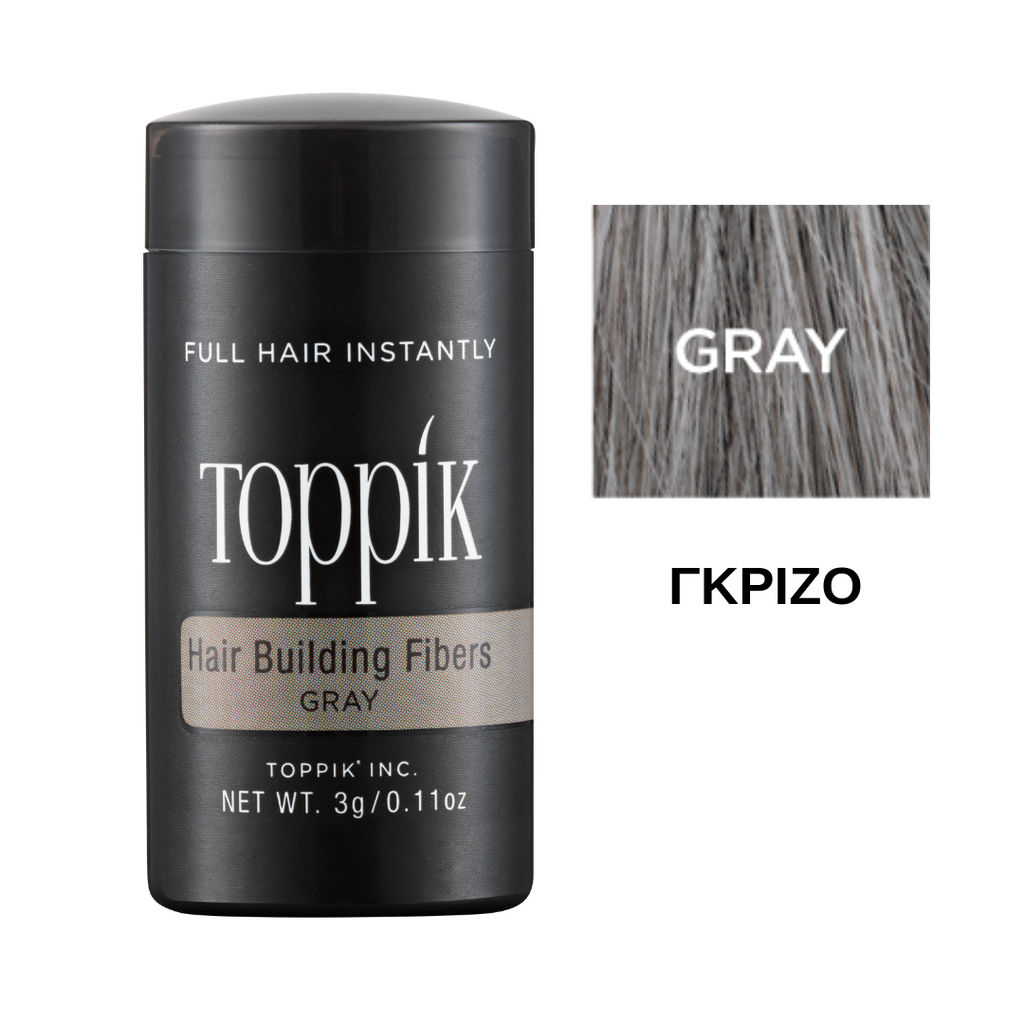 Toppik Hair Building Fibers Grey 3gr