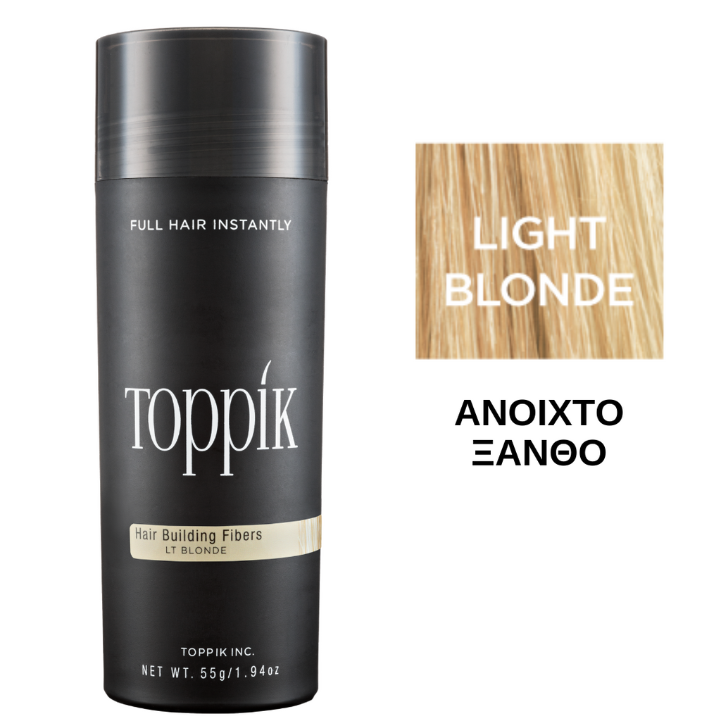Toppik Hair Building Fibers Light Blonde 55gr