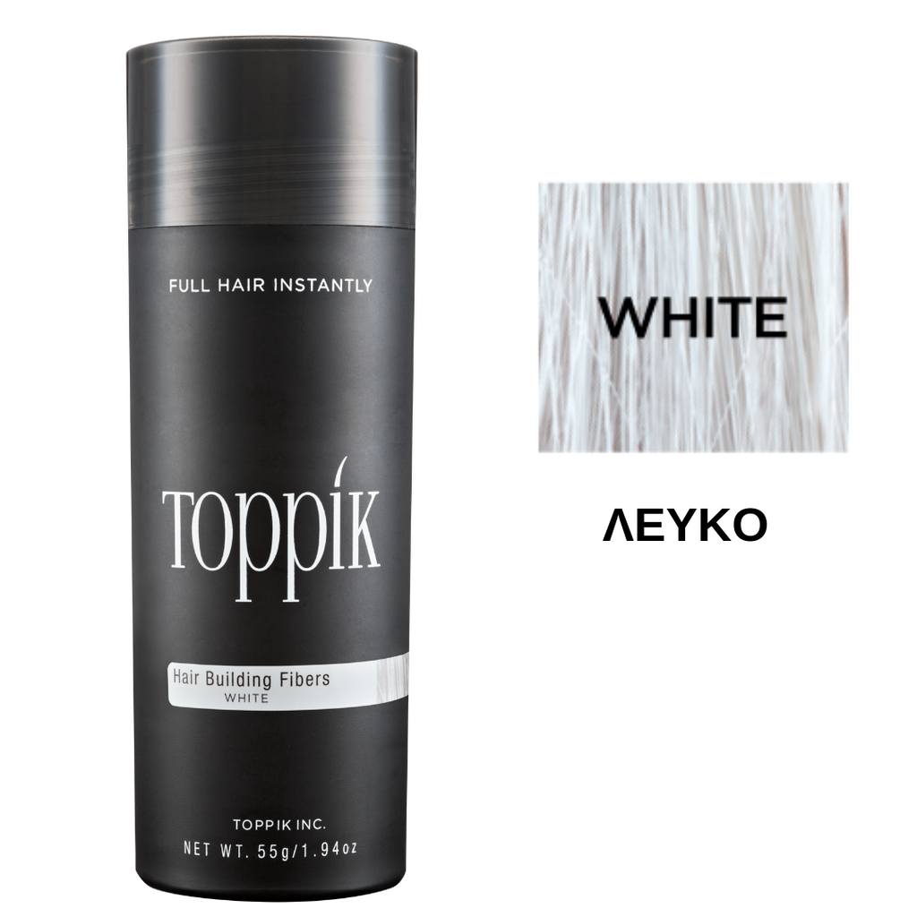 Toppik Hair Building Fibers White 55gr