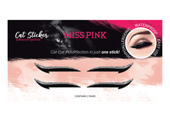 Cattitude (5) CAT STICKER - ADHESIVE EYELINER - Miss Pink USA