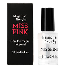 Magic Nail Fixer - Fixate Oil - Miss Pink USA