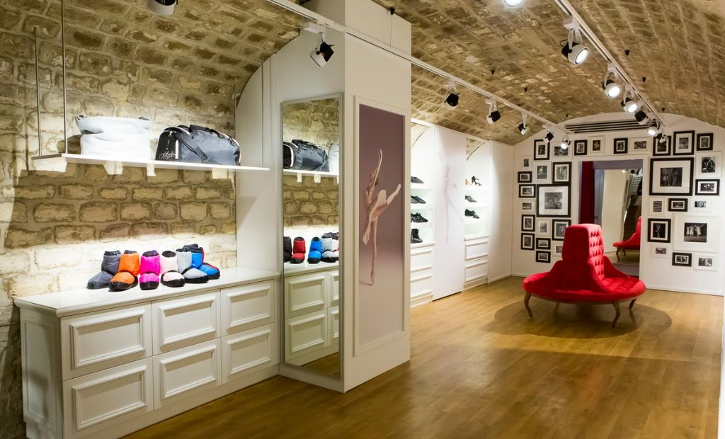 A view inside the BLOCH Paris Store