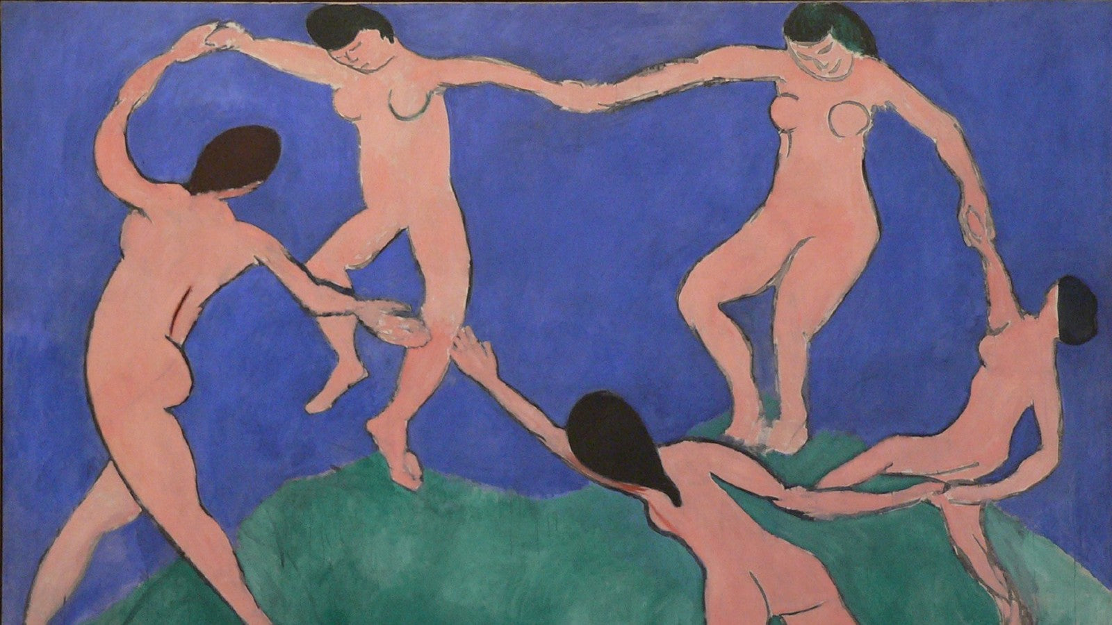 Dance (I) painting by Henri Matisse (1909)
