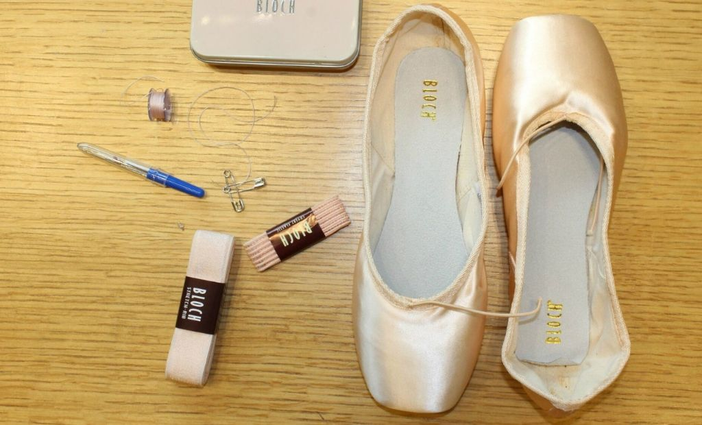 Sewing your BLOCH Pointe Shoe ribbons