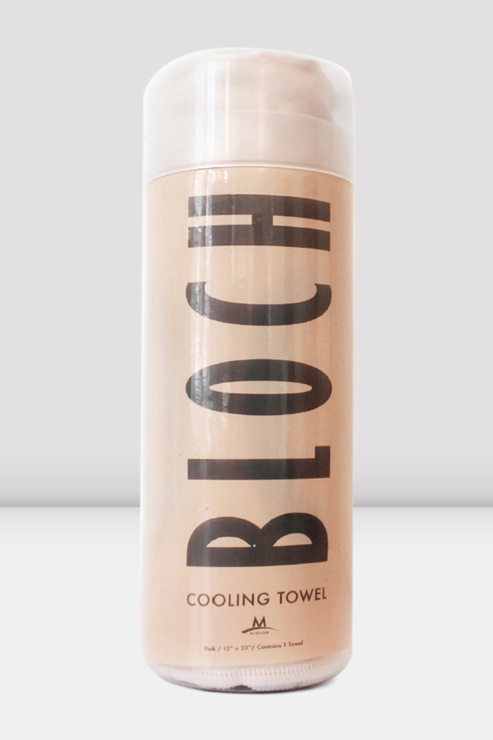 Pink Bloch Cooling Towel single product in packaging